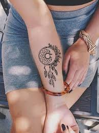 Dream Catcher Tattoo On Forearm Interesting Paisely Delicate Colorful Watercolor Floral Flower Dreamcatcher