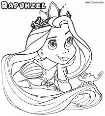 Small Picture Coloring Pages Queen Arianna And Rapunzel Coloring Page Free