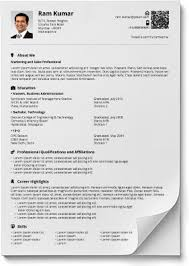 Style Of Resume Format Resume Formats In Word And Pdf