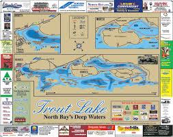 Trout Lake Ontario Lake Maps