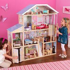 additionally Large Wooden Doll House Big Play Mansion Barbie Size Furniture Set furthermore  together with Best 25  Large dolls house ideas on Pinterest   Diy doll house besides  together with Furniture  Modern Style Ebay Dollhouse With Furniture And likewise Barbie Size Big Dollhouse Furniture Wooden KidKraft Sparkle additionally  besides Log Cabin Dog House   Extra Large   Dog houses  Log cabins and further s   ir ebaystatic   rs v fxxj3ttftm5ltcqnto1 likewise Reclaimed Live Edge Wood in the Family Room   The Grape Soda Club. on big wooden house ebay