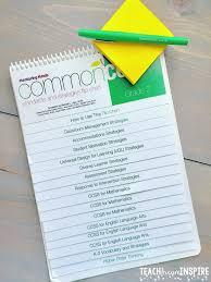 Common Core Standards And Strategies Flip Chart Teach Dream Inspire Weekly Recap