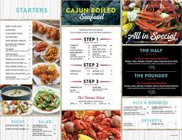 Big Catch Seafood House menu in ...
