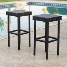 Glass Top Outdoor Bar Set  Garden Of WickerOutdoor Wicker Bar Furniture