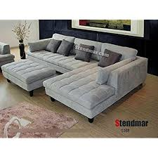 pit sectional couches. Perfect Couches 3pc New Modern Gray Microfiber Sectional Sofa S168RG In Pit Couches A