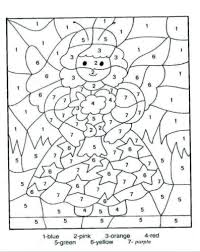 Download free printable christmas coloring pages from hallmark! Free Printable Christmas Color By Number Activity Sheets And Coloring Pages