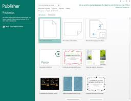 Microsoft Publisher 2013 Descargar