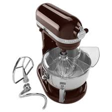 W KitchenAid KP26M1XES 10 Speed Stand Mixer W 6 Qt Stainless Bowl U0026  Accessories Espresso