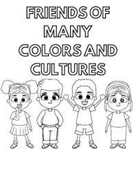Make them happy with these printable coloring pages and let them show how artful and creative they are. Diversity Coloring Pages By Leslie Lowery Teachers Pay Teachers
