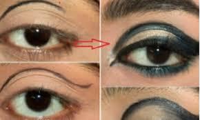 dramatic cut crease arabic eye makeup tutorial