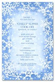 White Christmas Invitations White Snow Christmas Party Invitations 14021