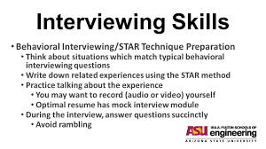Star Interview Techniques Star Technique Interview Questions Military Bralicious Co