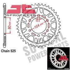 Advertisement Ebay Jt Sprockets Aluminum Rear 520 Pitch 43t