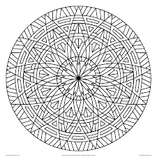 Small Picture Images Of Printable Hard Geometric Coloring Pages And Cool Design