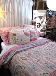 Bed Linen Decorating Bedroom Fantastic Hello Kitty Bedroom Decorations With Red Kitty