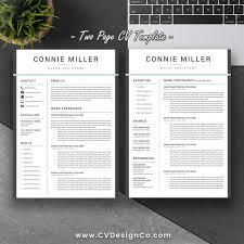 Most Popular Professional Resume Template Elegant Cv Cover