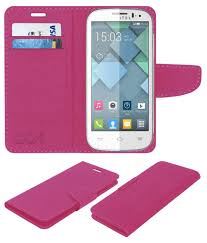 Alcatel POP C5 Flip Cover by ACM - Pink ...
