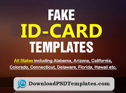 Make Your Own Identification Card Fake Id Templates Generator Free Id Card Maker Online