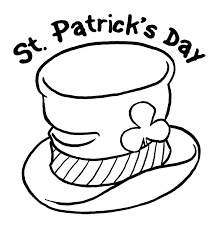St Patrick S Day Hat Coloring Page