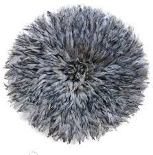 large dark gray juju hat contemporary
