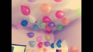 For Room Decoration Room Decoration For Birthday Party In Simple Ways 2016 Youtube