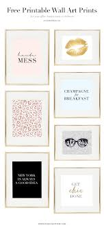 Free Wall Printables Free Girl Boss Prints For Your Office Beauty Room Or Bedroom