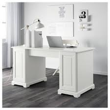 ikea liatorp desk you can fit a computer in the cabinet since the shelf is