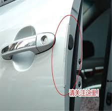8pcs set universal car door edge guards trim molding protection strip scratch protector dropshipping in car stickers from automobiles motorcycles on