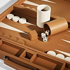 linley games and sporting beige backgammon board luxury gifts homeware furniture interior design bespoke