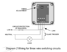 wiring diagram schematic for three wire switching circuit of time wiring diagram schematic for three wire switching circuit of time delay switch timing adjustment