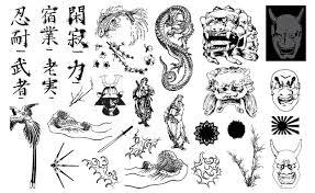 Asian Art Vector Pack For Adobe Illustrator