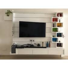 modern wall mounted tv wall unit rs