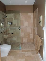 Open shower - no door.