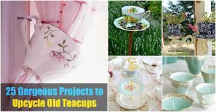 Decorating With Teacups And Saucers From Tea to Décor 60 Gorgeous Projects to Upcycle Old Teacups 38