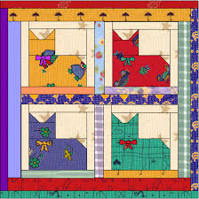 Easy Cat Nap Quilt .... these are cute, you can find instructions ... & Cat quilt patterns Adamdwight.com