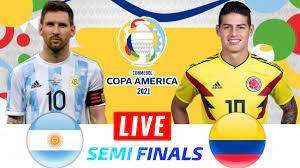 🔴 Argentina vs Colombia