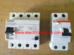 residual current circuit breaker protection against direct and indirect contact of personnel or livestock and probable fire prevents shocks caused by earth leakage which could be fatal