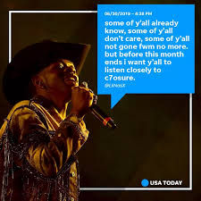Usa Today Country Chart Old Town Road Artist Lil Nas X Faces Homophobia After