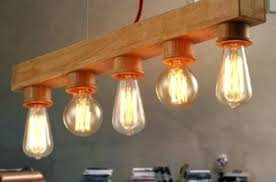 edison bulb chandelier light home lighting fixtures simple