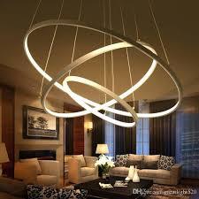 modern pendant lighting modern circular ring pendant lights 3 2 1 circle rings acrylic aluminum led lighting ceiling lamp fixtures for living room