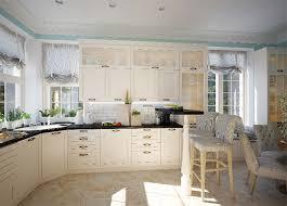 planen mit Weiß Luftige Traditionelle Küche Mit Keramische