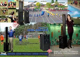 anchor bea bpdual beacon portable line array speaker dxb technology anchor brochure