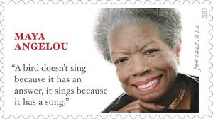 Maya Angelou Famous Quotes Amazing Maya Angelou Memorial Stamp Features Quote From Different Author And