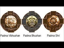 பல்வேறு துறைகளில் சாதனை புரிந்த, 119 பேருக்கு பத்மவிருதுகள்