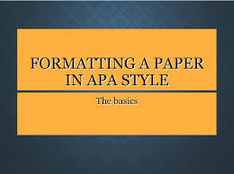Apa Paper Cover Page Apa Paper Formatting Ids 501 Research Guides At