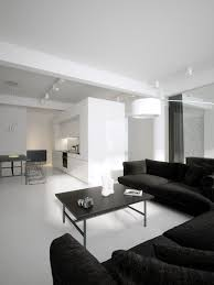 black and white modern furniture. Modern Minimalist Black And White Lofts Furniture