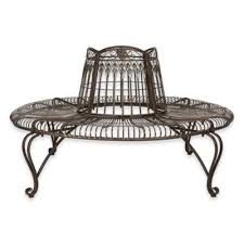 white wrought iron furniture. Safavieh Ally Darling Wrought Iron Tree Bench In Antique White Furniture I