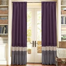 Modern Curtain Panels For Living Room Interior Design Modern Gray Othello Geometric Currtain Panels For