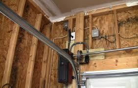 wall mounted garage door openerHow To Install A Garage Door Opener  DesignForLifes Portfolio