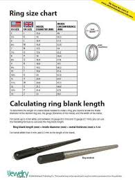 Ring Blank Sizing Chart Uk Ring Size Chart Us And Uk Soldering Jewelry Jewelry